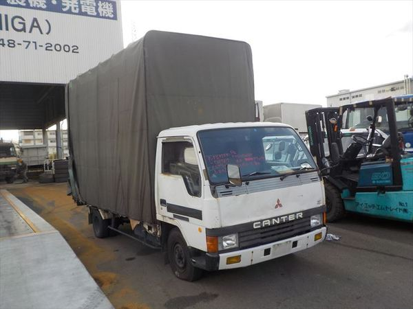 MITSUBISHI FUSO CANTER CARGO WITH CANVAS