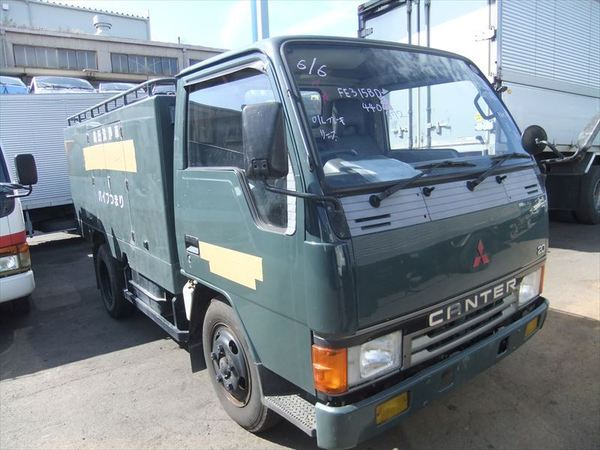 MITSUBISHI CANTER SWEEPING TRUCK